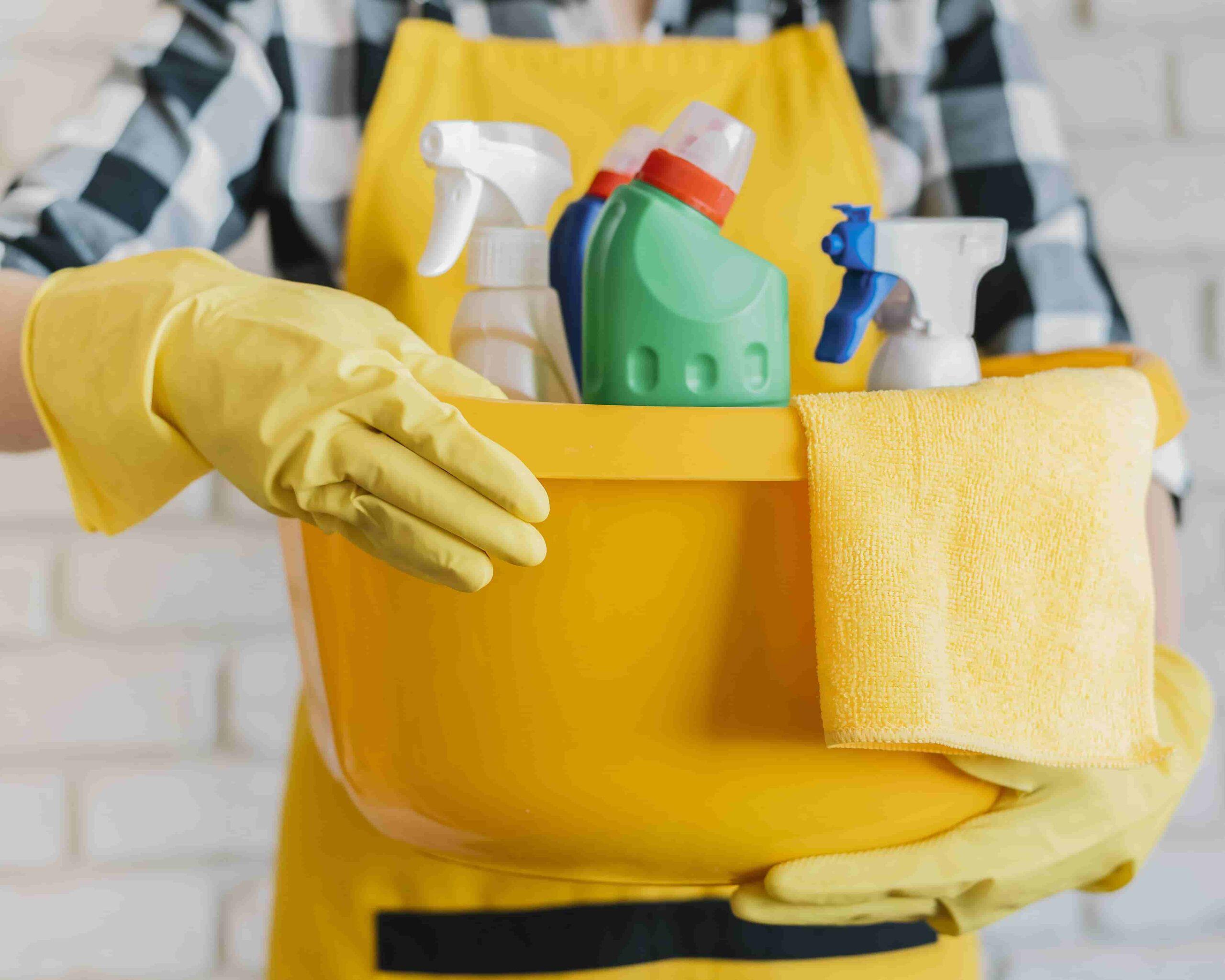 limpieza profunda en mi hogar